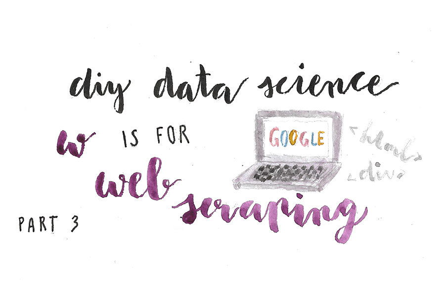 DIY Data Science, Part 3: W is for Web Scraping - Ilinca